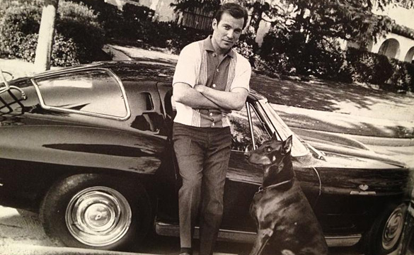 [PIC] Throwback Thursday: William Shatner and a 1963 Corvette Sting Ray Sport Coupe