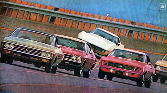 NCRS Offering Factory Documentation for Chevelles, Novas and Camaros