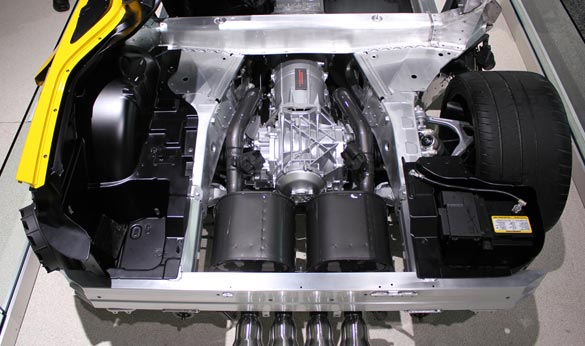 The 2015 Corvette Z06's 8-Speed Transmission