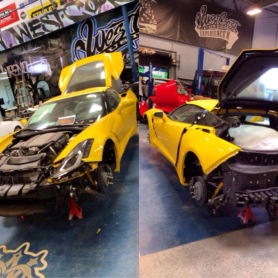 [PICS] West Coast Customs Takes On The 2014 Corvette