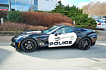Corvette Stingray Police Car for Sale in Sweden