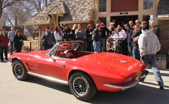 Friends Restore the 1964 Corvette for a Veteran with Terminal Cancer