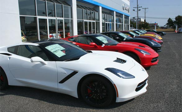 March 2014 Corvette Sales