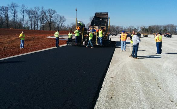 [PICS] Laying Asphalt at the Corvette Museum's Motorsports Park