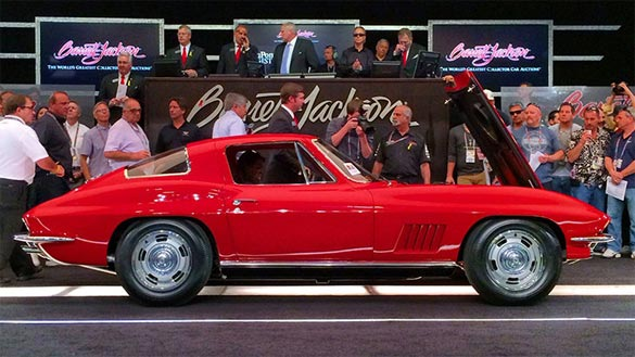 1967 L88 Corvette was sold for $3.85M