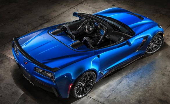 Introducing the 2015 Corvette Z06 Convertible