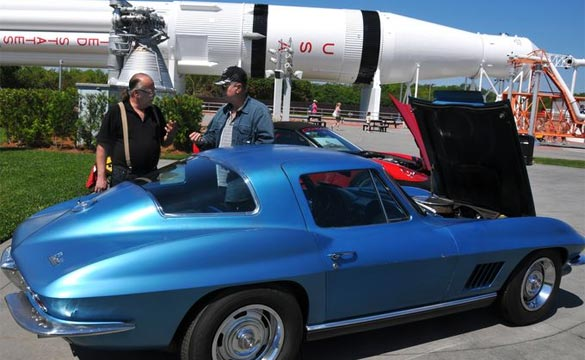 Astronaut Neil Armstrong's 1967 Corvette Now On Display at the Kennedy Space Center