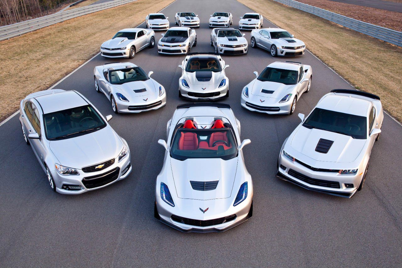 Chevrolet Shows Off Expanded Performance Car Line For The 2015 Model