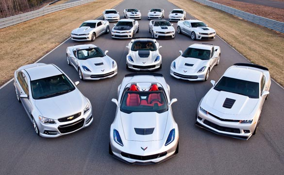 Chevrolet Shows Off Expanded Performance Car Line for the 2015 Model Year