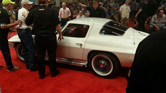1967 McNamara Corvette Sells for $725K at Mecum