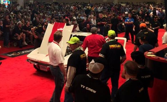 1967 McNamara Corvette Sells for $725K at Mecum's Houston Auction