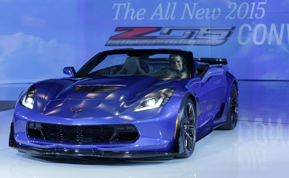 [VIDEO] Chevrolet Introduces the 'Big Nasty' Corvette Z06 Convertible