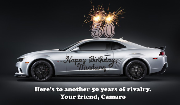 Happy 50th Anniversary to the Ford Mustang