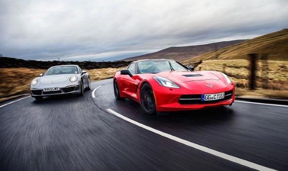 Top Gear: Corvette Stingray v. Porsche 911
