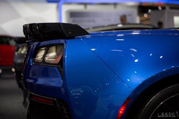 The 2015 Corvette Z06s at the New York Auto Show