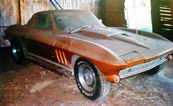 1966 Corvette Big Block: From Barn Find to Award Winner