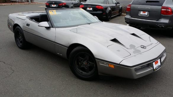 Corvettes on eBay - Ultra Low Mile 1987 Callaway B2K Convertible
