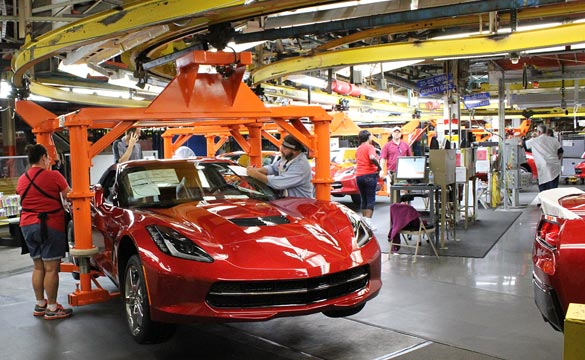 Corvette Assembly Plant's UAW Leader Believes Strike Can Be Avoided