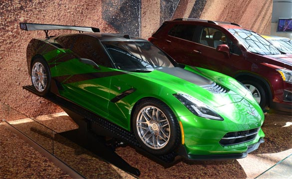 Chevrolet Displays Corvette Stingray, Camaro and Trax Movie Cars from Transformers: Age of Extinction at NYIAS