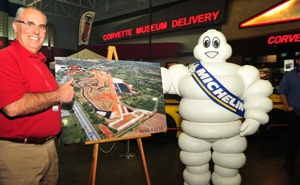 National Corvette Museum and Michelin Announce Sponsorship for NCM Motorsports Park
