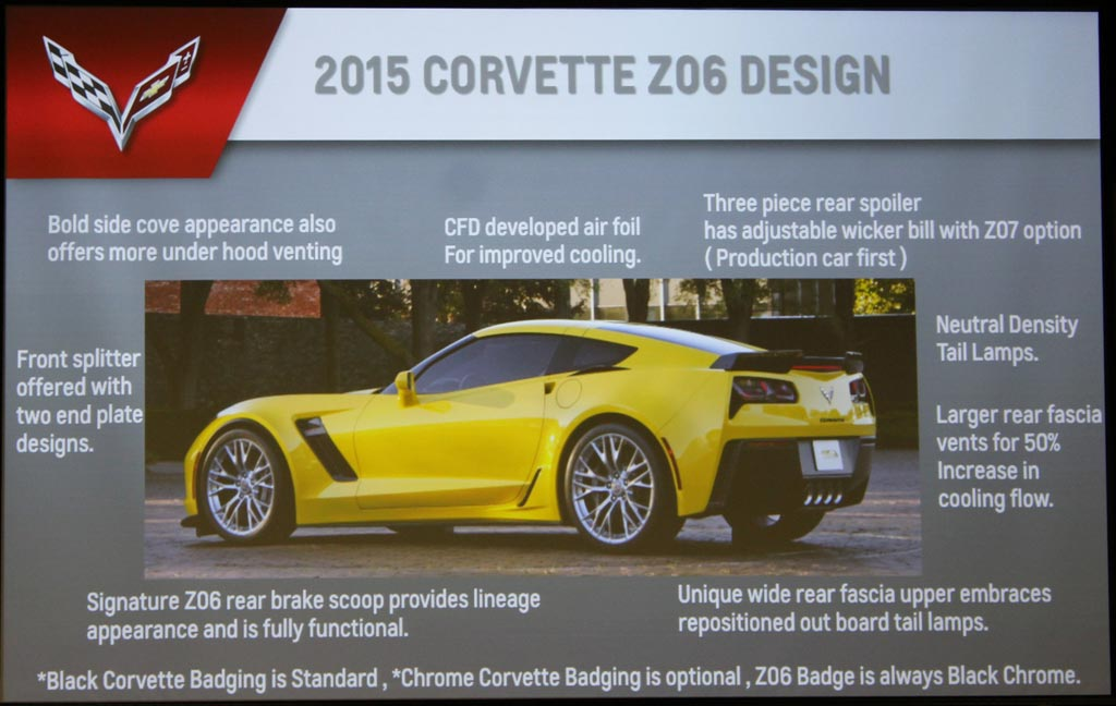 video what 39 s new for the 2015 corvette corvette sales news lifestyle. Black Bedroom Furniture Sets. Home Design Ideas