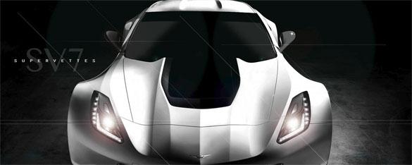 Supervettes SV7 Wide Body Kit Teased for Corvette Stingray