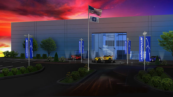 GM Begins Work on New Performance and Racing Center