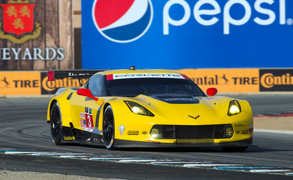 Corvette Racing at Laguna Seca: Pole Position for Garcia, Corvette C7.R