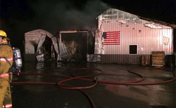 Fire Destroys Rpi Designs Headquarters Corvette Sales