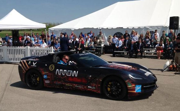 Quadriplegic Race Car Driver Returns to the Track in a Corvette Stingray