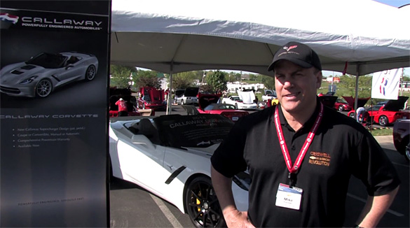 [VIDEO] CorvetteBlogger Talks with Criswell Corvette's Mike Furman at the NCM Bash