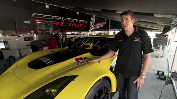 [VIDEO] Tommy Milner Shows Off His No.4 Corvette C7.R
