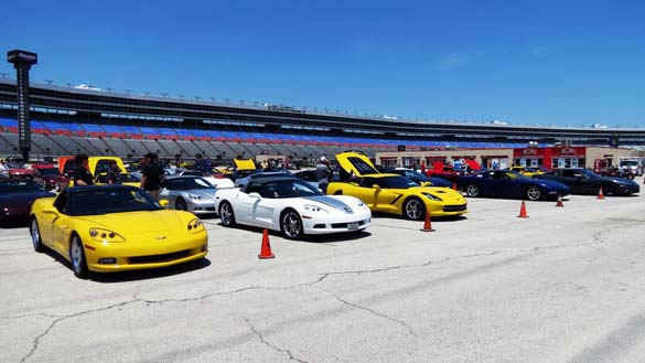 Corvettes at the Lone Star Corvette Classic
