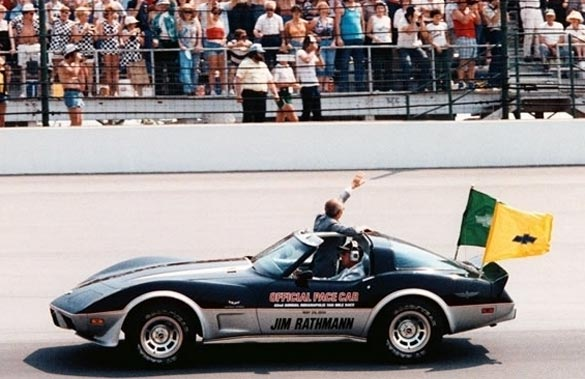 Throwback Thursday: 1978 Corvette Paces the Indy 500
