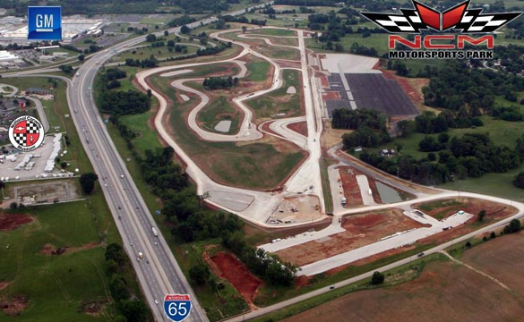 Latest Aerial Photos Give Best View Yet of the Corvette Museum's Motorsports Park