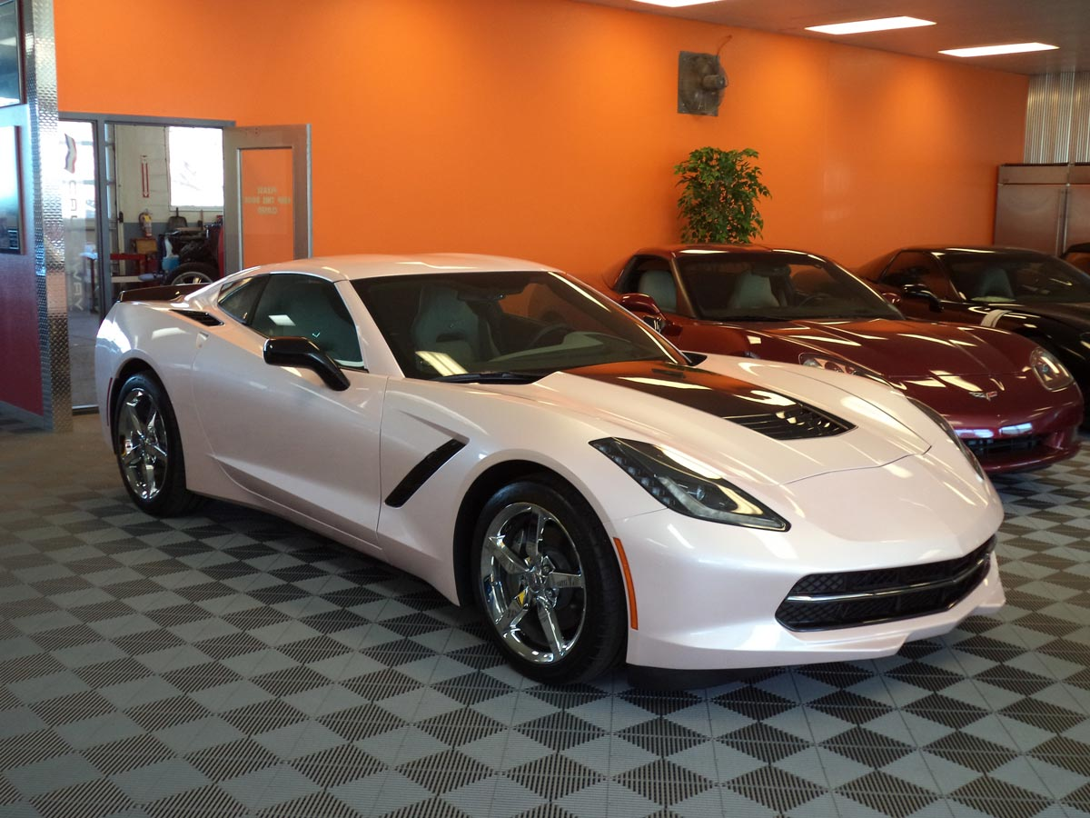 Purifoy Chevrolet Builds A One Of A Kind Pink Corvette Stingray Corvette Sales News Lifestyle