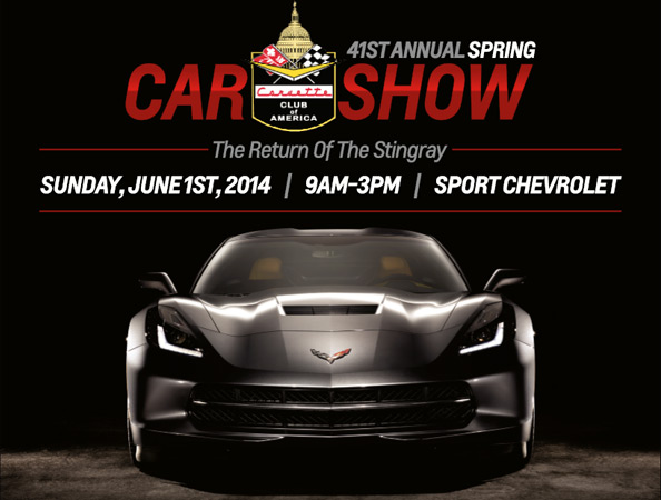 Join Sport Chevrolet for the 41st Annual Corvette Club of America Spring Car Show
