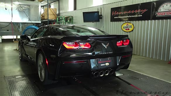 [VIDEO] Hennessey Shows Off the HPE650 Corvette Stingray
