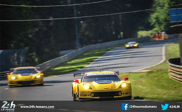 Corvette Racing at Le Mans: First Laps at Le Mans for Corvette C7.R