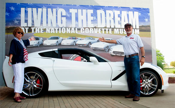 Couple Picks up New Corvette Stingray and Donates a C4 to the Corvette Museum
