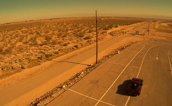 Wild 1998 Corvette Runs 200 mph at the Mojave Mile