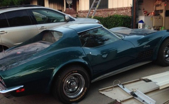 [VIDEO] Firefighters Save Man's Prized 1970 Corvette from a House Fire
