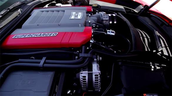 Edelbrock's E-Force Supercharger for the C7 Corvette Stingray