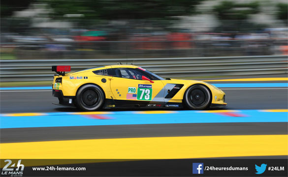 Corvette Racing at Le Mans: Garcia Leads Corvette Attack on First Day