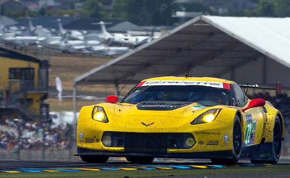 Corvette Racing at Le Mans: Runner-Up Finish for Corvette C7.R