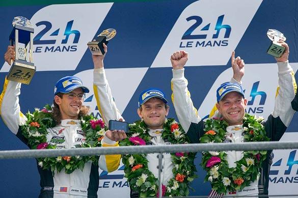 Garcia, Magnussen, Taylor lead Corvette Racing effort with GTE Pro podium