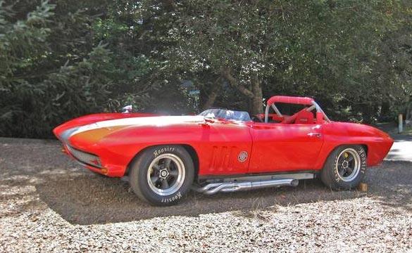 Corvettes on Craigslist: Vintage 1966 SCCA B-Production Racer in Oregon