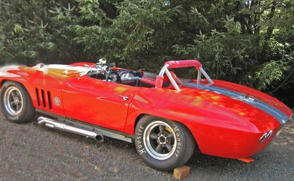 Corvettes on Craigslist: Vintage 1966 SCCA B-Production Racer in Oregon