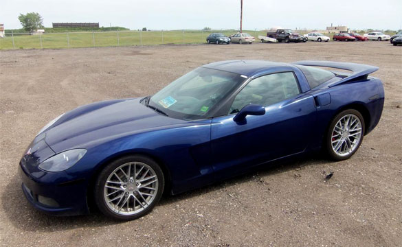 Fargo Police Seize a C6 Corvette in Drug Stop