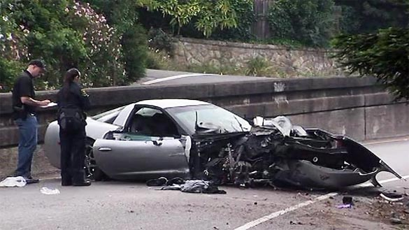 C5 Corvette Driver Facing Felony Charges After DUI Crash